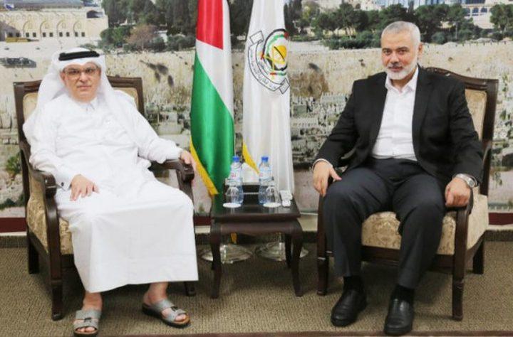 هنية ينفي صحة القرار القطري بتخفيض نسبة الوقود المقدم لغزة