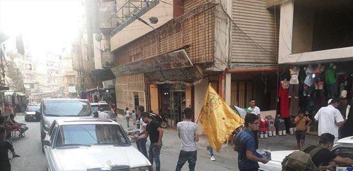 """توزيع حلوى واطلاق نار في مخيم البداوي احتفالا بعملية""""حزب الله"""""""