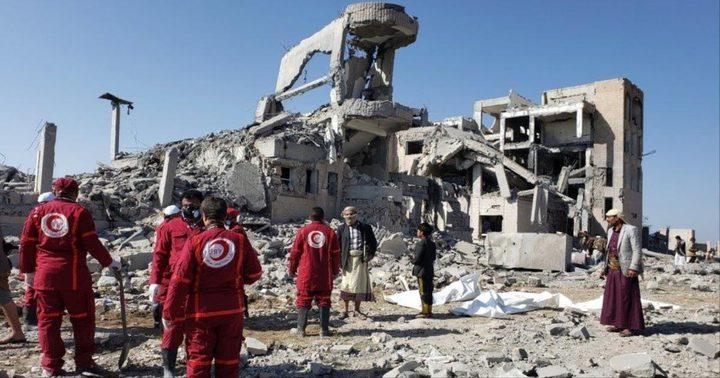 150 قتيلاً وجريحاً في غارة للتحالف على سجن في ذمار اليمنية