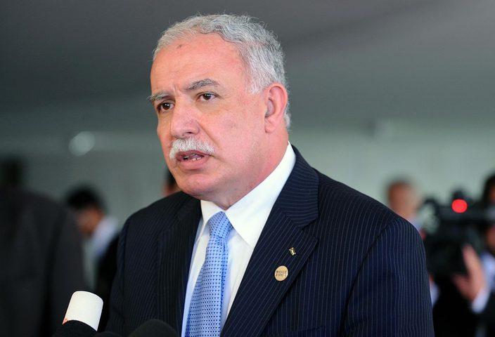 المالكي يطلع نظيرته البلغارية على الأوضاع السياسية الفلسطينية
