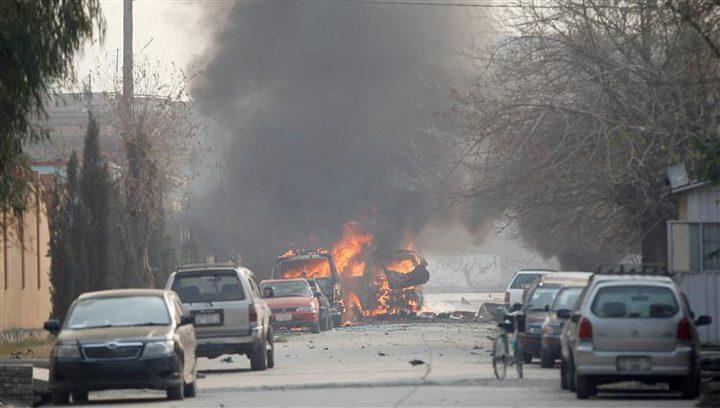 مقتل 5 أشخاص بتفجير سيارة في أفغانستان