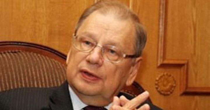 وفاة سفير روسيا لدى مصر