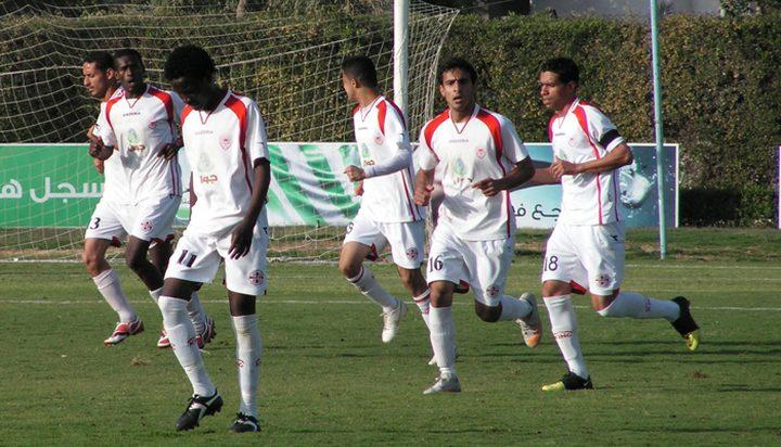 فريق غزة الرياضي يتقدم على شباب رفح بهدفين