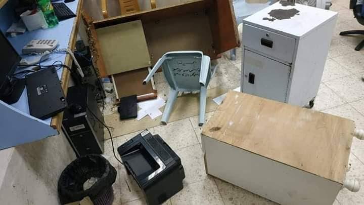 مرافقو مريضة يعتدون على مستشفى الشهيد ياسر عرفات