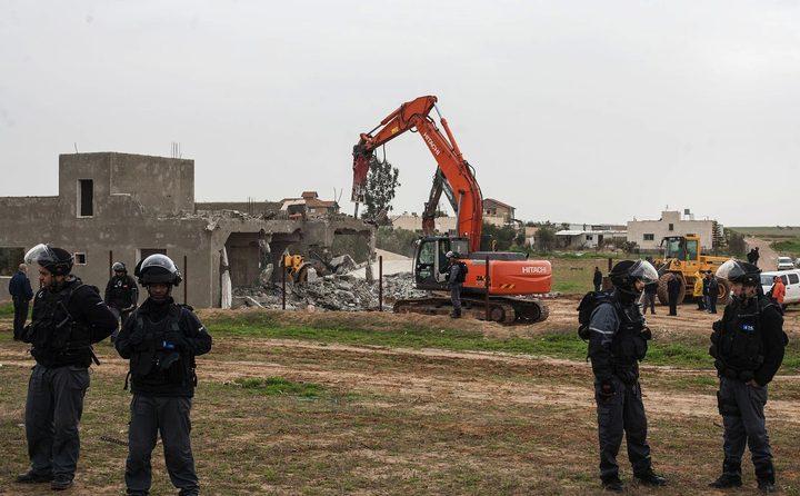 سلطات الإحتلالتهدم قرية العراقيب للمرة الـ157 وتصادر خيام السكان