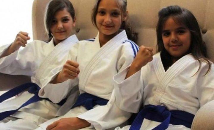 لاعبة فلسطينية تحصد أول برونزية في البطولة العربية للجودو