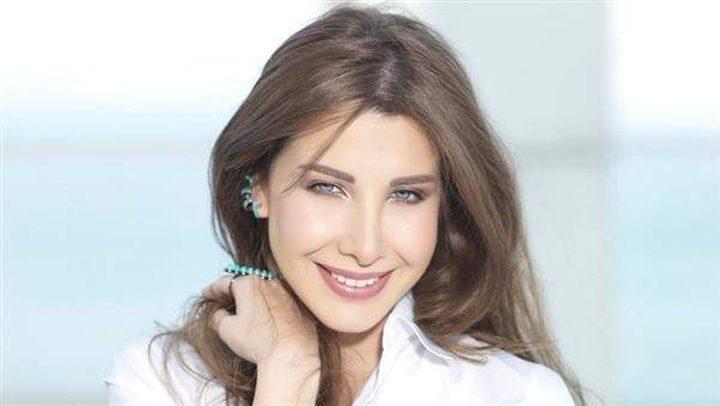 نانسي عجرم تحتفل بعيد زواجها