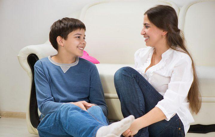 إظهار الحب لابنك المراهق