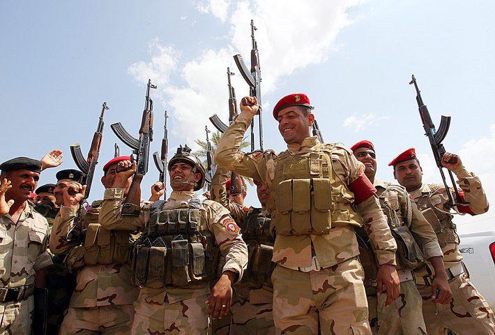 """الجيش العراقي يعثر على مخازن سلاح لـ """"داعش"""""""