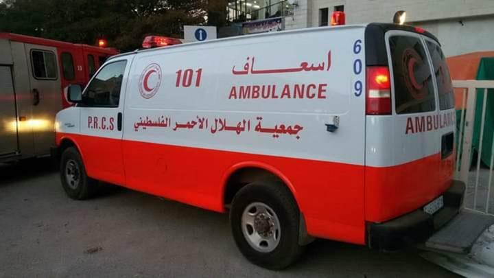 إصابة مسن بحادث دهس في نابلس