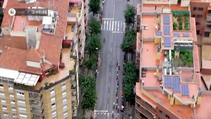 سباق دراجات يكشف مبنى جريمة!