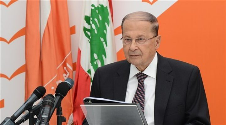 عون : إسرائيل ستتحمل نتائج أي هجوم على لبنان