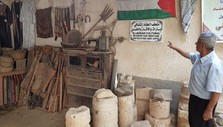 غزة: متحف العقاد اجتهاد شخصي للحفاظ على ارث وحضارة لا تموت