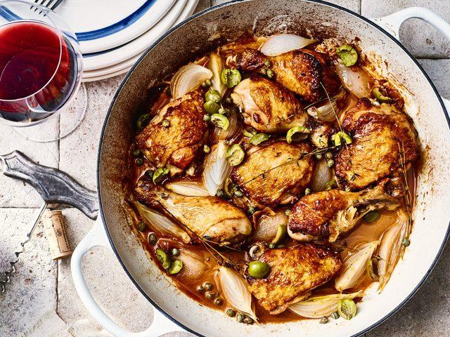 الدجاج المطبوخ وعلاقته بالحساسية