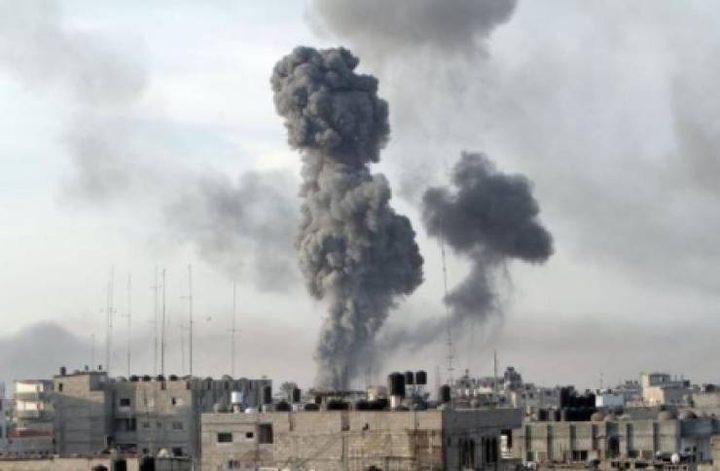 الاحتلال يقصف موقعاً شرق رفح جنوب قطاع غزة