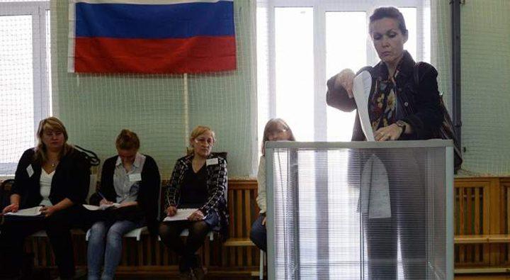 الروس يتوجهون الى صناديق الاقتراع