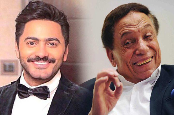 فيلم سينمائي يجمع عادل إمام وتامر حسني
