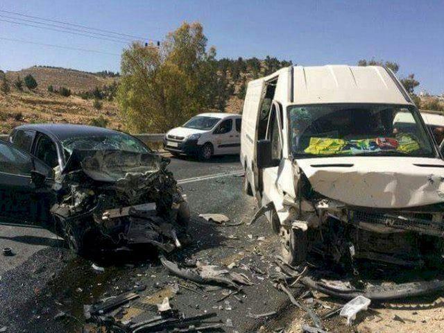خلال الأسبوع الماضي: مصرع 4 اشخاص وإصابة 234 في 282 حادث سير