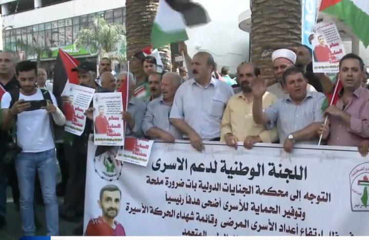 عبد ربه: استشهاد بسام السايح هو إعدام بطيء وإهمال طبي متعمد