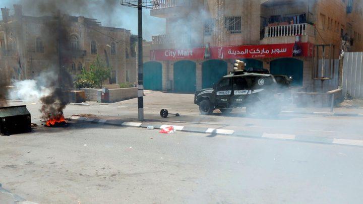 مصادرة جهاز تسجيل كاميرات مراقبة شرق قلقيلية