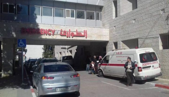 الصحة: إصابة خطيرة برصاص الاحتلال وصلت لمجمع فلسطين الطبي