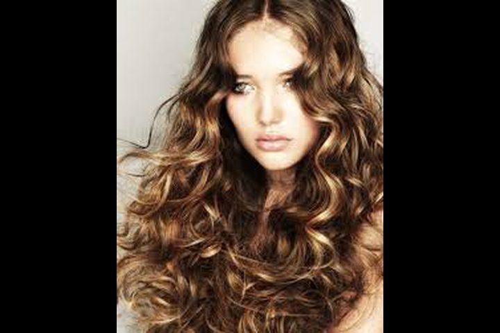 تسريح الشعر بالمياه الغازية