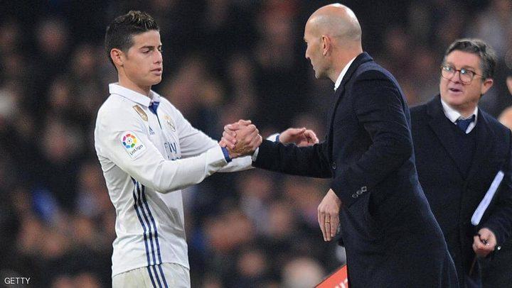 خاميس رودريغيز يشعل أجواء ريال مدريد