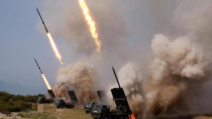 كوريا الشمالية تجري اختبارًا لصاروخين قصيري المدى