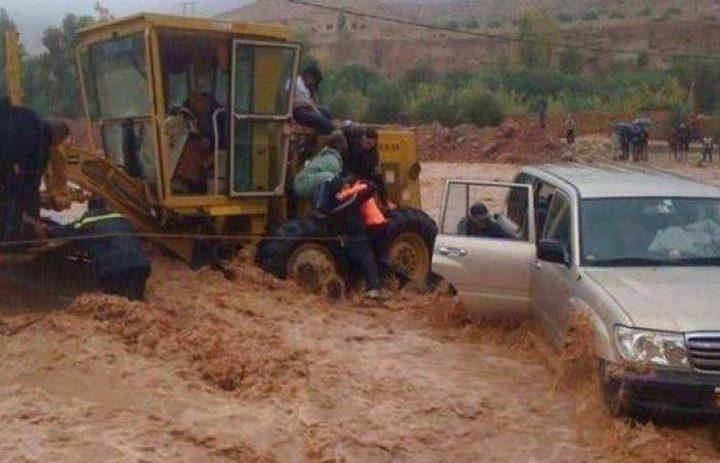 فيضانات بالمغرب تودي بحياة 17 شخصًا