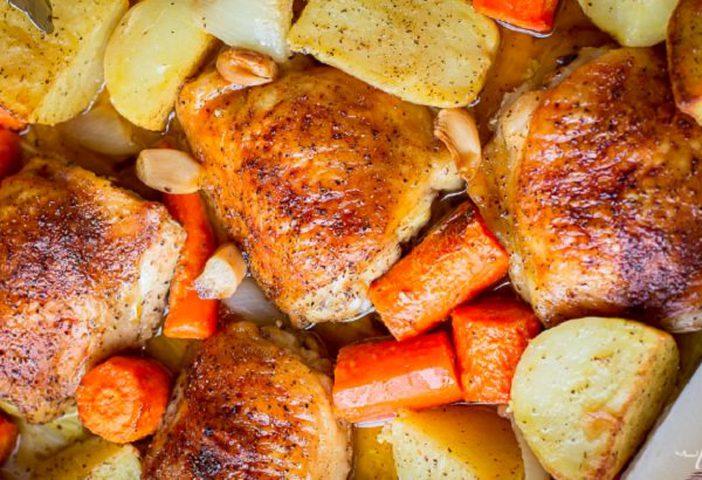 دجاج مقرمش وشهيّ
