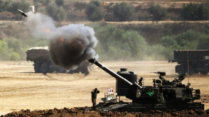 مدفعية الاحتلال تقصف موقعين شمال قطاع غزة