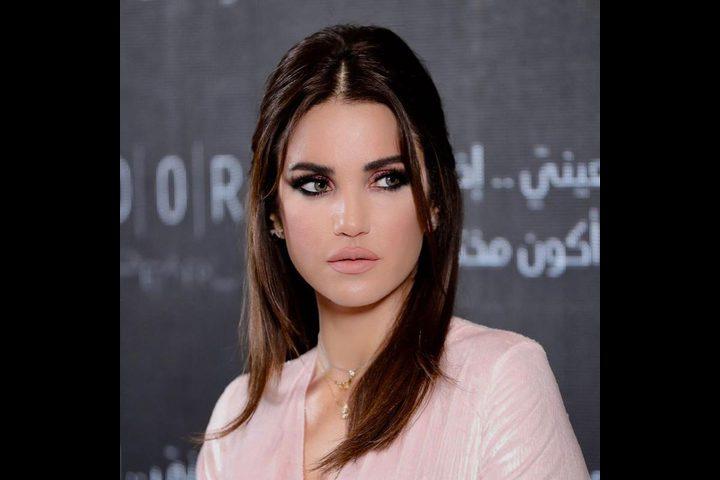 الفنانة درة تثير قلق جمهورها