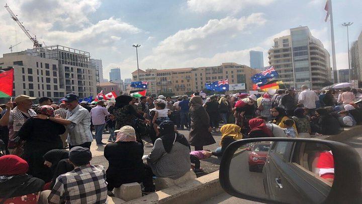 اللاجئون الفلسطينيون في لبنان يطالبون أوروبا بفتح باب الهجرة