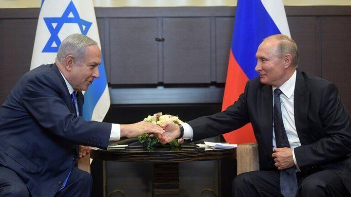 """بوتين يزور """"إسرائيل"""" مطلع العام المقبل"""