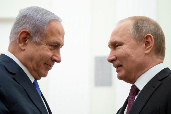 نتنياهو يلتقي بوتين في سوتشي