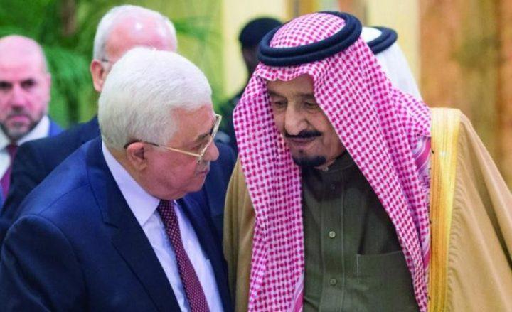 ملك السعودية للرئيس عباس: إعلان نتنياهو باطل ولاغ