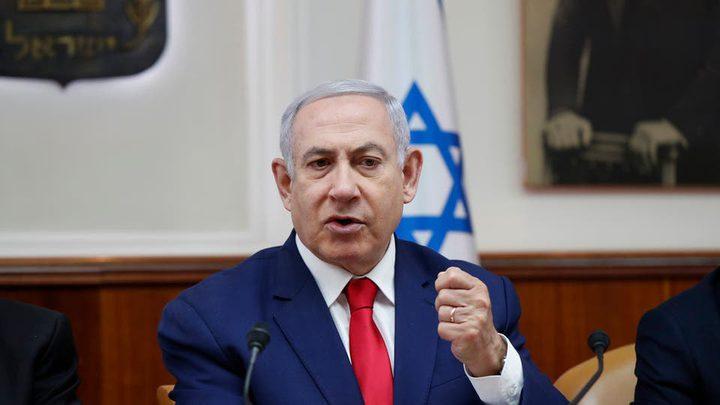 نتنياهو : من المحتمل البدء بحرب مع غزة قبيل الانتخابات