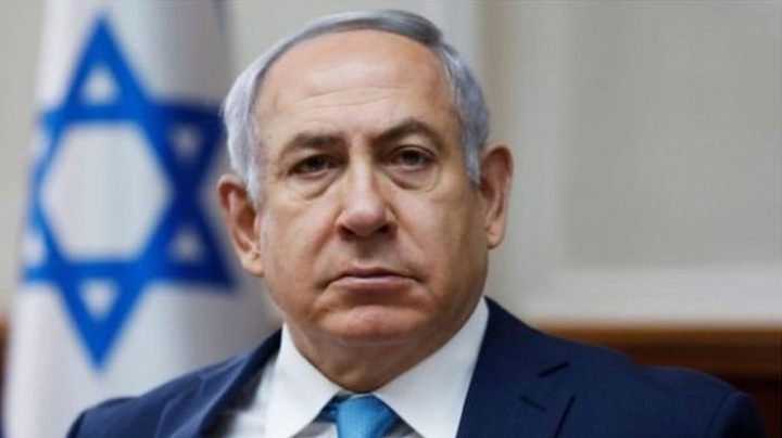 نتنياهو: هروبي من التجمع الانتخابي كان التزاماً بالتعليمات