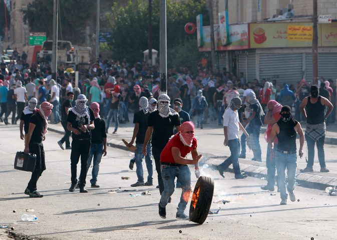 إصابات خلال قمع الاحتلال لمسيرة في كفر مالك شرق رام الله