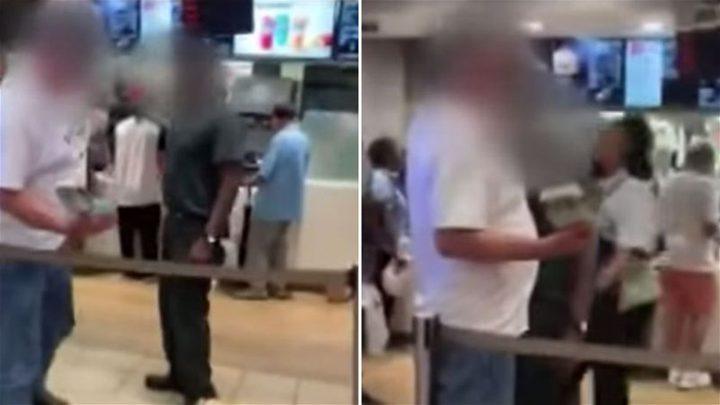 موظف يعتدي على زبون بسبب البطاطا!