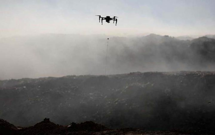 """المقاومة تسقط طائرة """"تجسس"""" للاحتلال شرق قطاع غزة"""