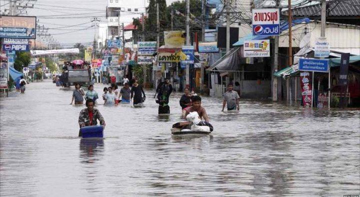 مقتل 32 شخصاً جراء فيضانات في تايلاند