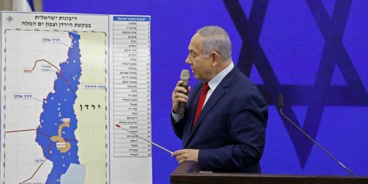 """نتنياهو: ضم المستوطنات الإسرائيلية يتماشى مع """"صفقة القرن"""""""