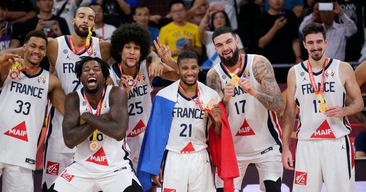 برونزية فرنسية على حساب أستراليا في مونديال السلة