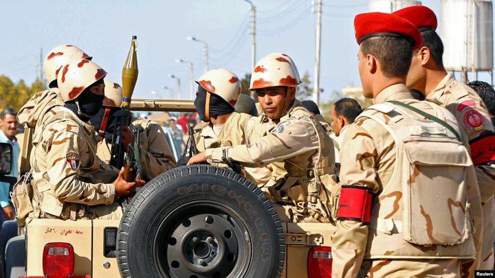 مقتل مجموعة مسلحة بشمال سيناء
