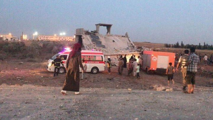 10 قتلى بانفجار سيارة مفخخة شمال سوريا