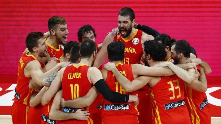 اسبانيا تتوج ببطلة العالمفي كرة السلة للمرة الثانية في تاريخها