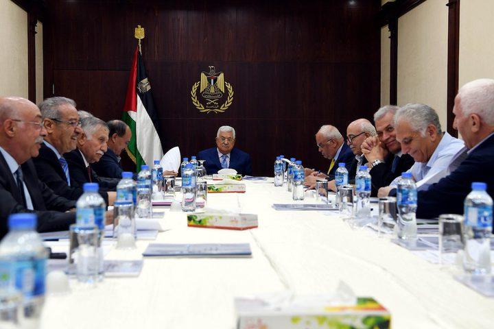 """تنفيذية منظمة التحرير: لن نلتزم بالاتفاقيات مع """"إسرائيل"""""""
