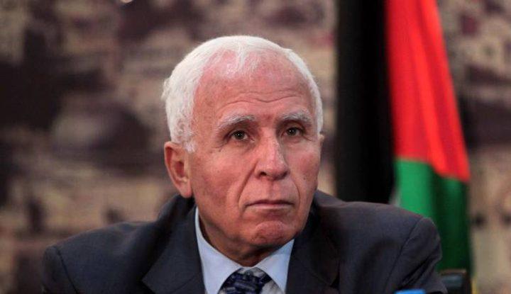 """الأحمد: تنتهي اتفاقاتنا مع """"إسرائيل"""" إذا نفّذ نتنياهو وعوده"""