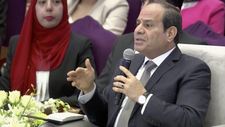 السيسي: المشروعات التنموية بمصر انتقلت من مرحلة التخطيط للتنفيذ
